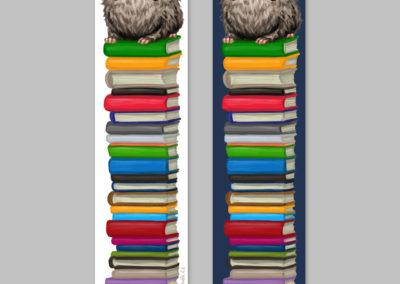 Knižní záložky s knižurou