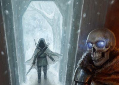 Jeskyně Tisíce přání - obálka gamebooku