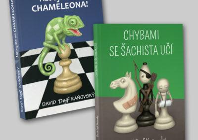 Obálky šachových knih