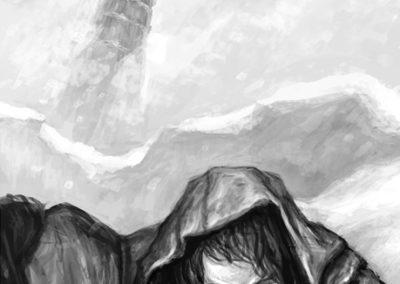 Děti vánice - ilustrace #2