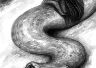 Děti vánice - ilustrace #3