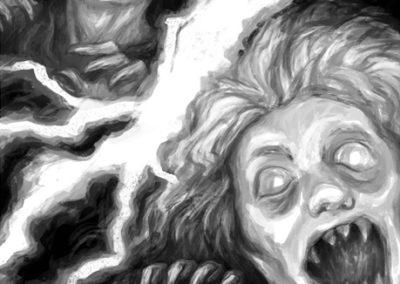 Děti vánice - ilustrace #4