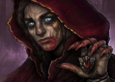 Voiceless Covenant - ilustrace pro Sorcerer: A Strategy Card Game