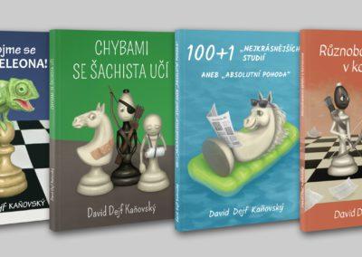 Obálky šachových knih - náhledy
