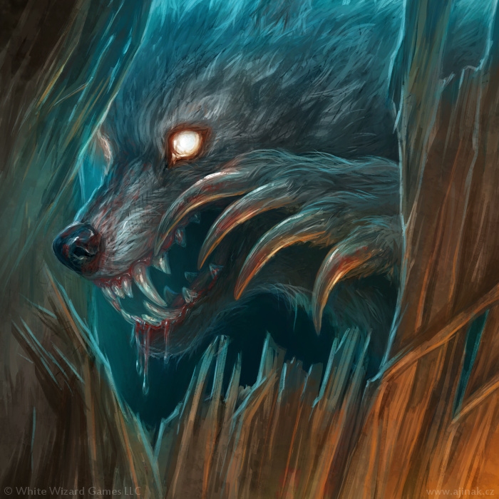 Cunning Hunter - illustration for Sorcerer: A Strategy Card Game