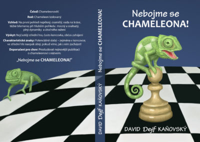 Don't be Afraid of the Chameleon - chess book cover