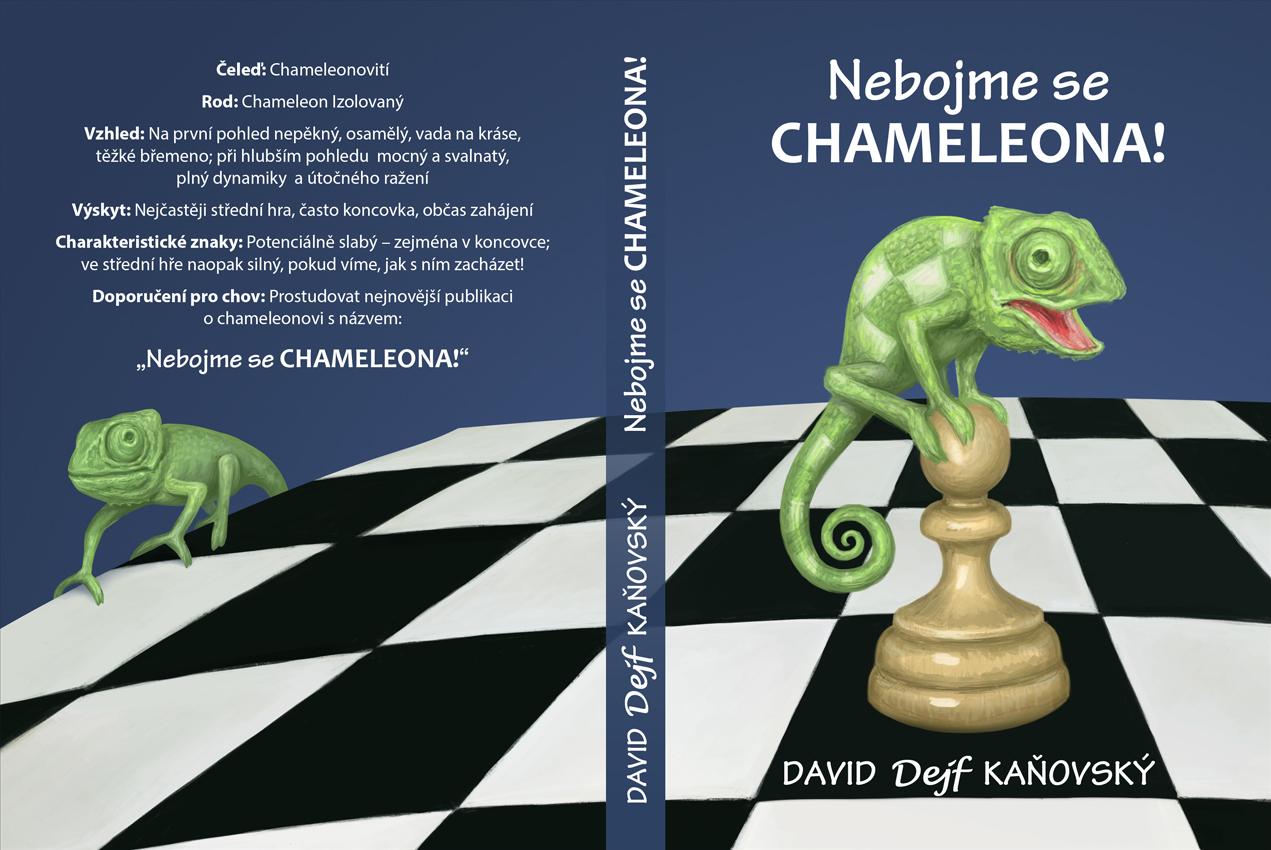 Nebojme se chameleona! - návrh obálky