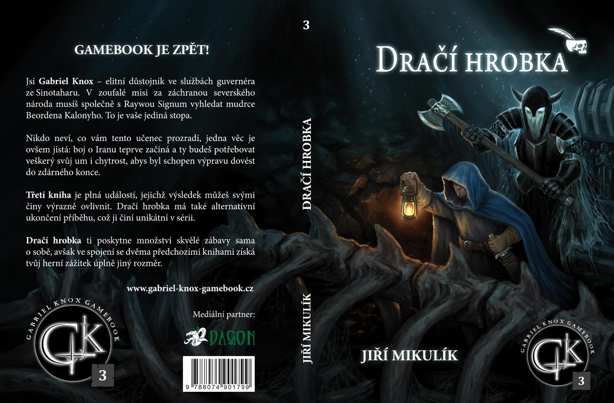 Dragon Tomb (Gabriel Knox Gamebook serie #3) - gamebook cover