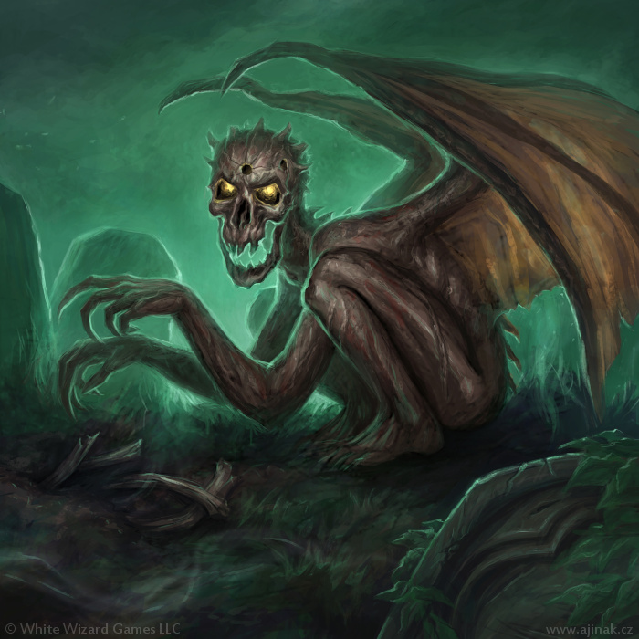 Dread Wight - illustration for Sorcerer: A Strategy Card Game