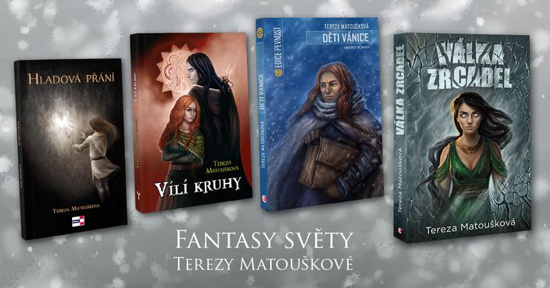 Fantasy worlds of Tereza Matoušková - winter banner