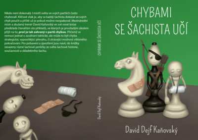 Chybami se šachista učí - návrh obálky