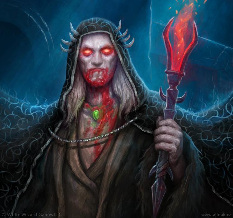 Johann Strahl - illustration for Sorcerer: A Strategy Card Game