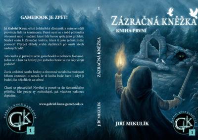 Miraculous Priestess (Gabriel Knox Gamebook serie #1) - gamebook cover