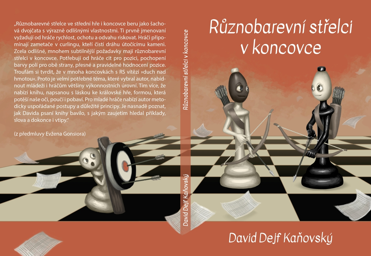 Opposite-Colored Bishops in an Endgame - chess book cover