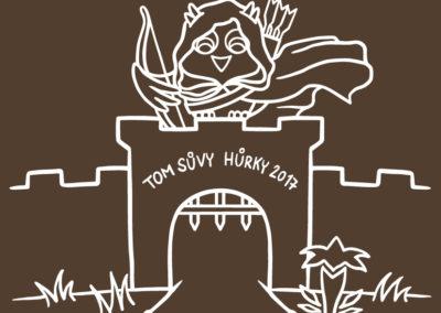 Hraničářův učeň - ilustrace na táborová trička pro TOM Sůvy