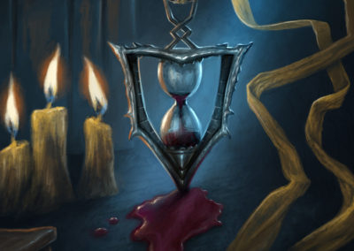 Recurring Dream - illustration for Sorcerer: A Strategy Card Game