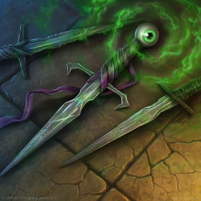 Rite of Blades - illustration for Sorcerer: A Strategy Card Game