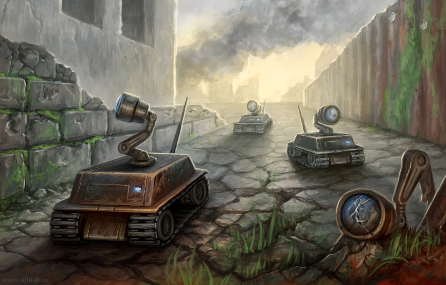 Robots pack - illustration for RONE - Races of New Era