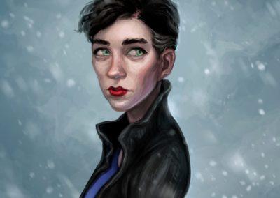 Sněhurka - ke stejnojmennému tématu na Projektu Ilustrace