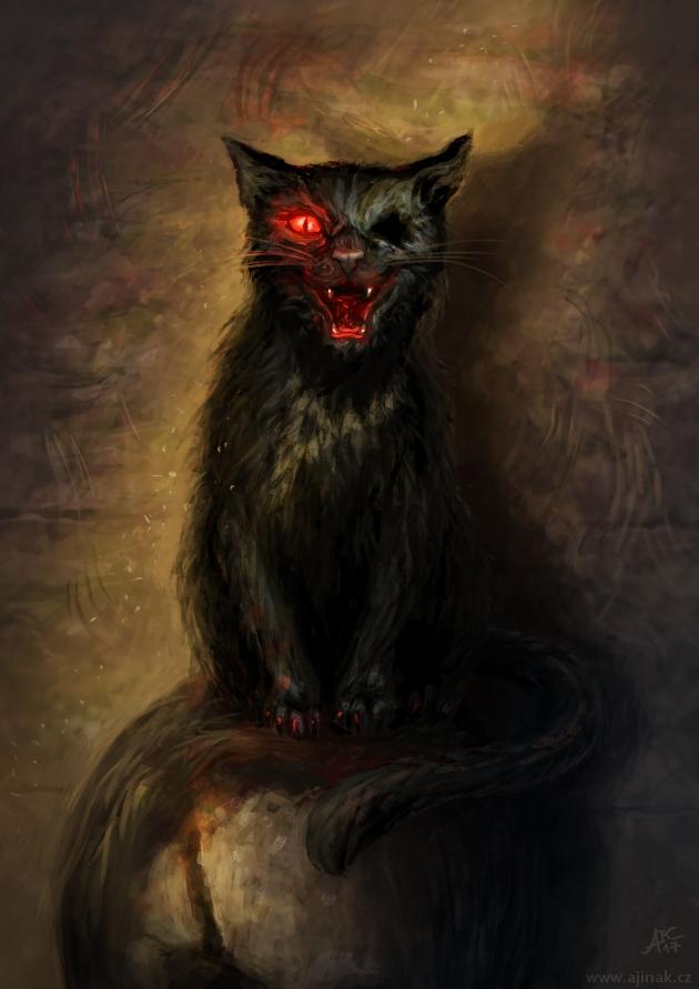 Černý kocour - k tématu