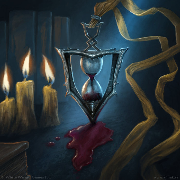 Legacy in Blood - ilustrace pro Sorcerer: A Strategy Card Game