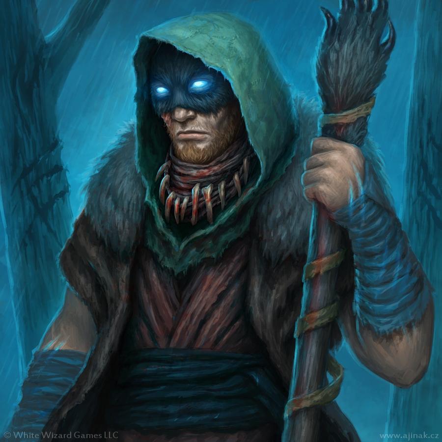 Raganhar - illustration for Sorcerer: A Strategy Card Game