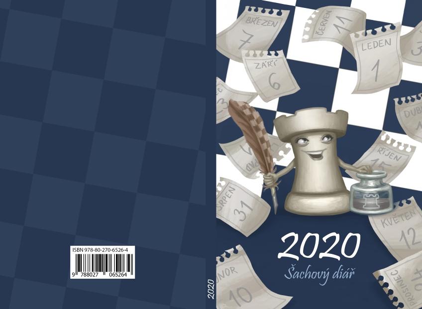 2020 Šachový diář - návrh obálky