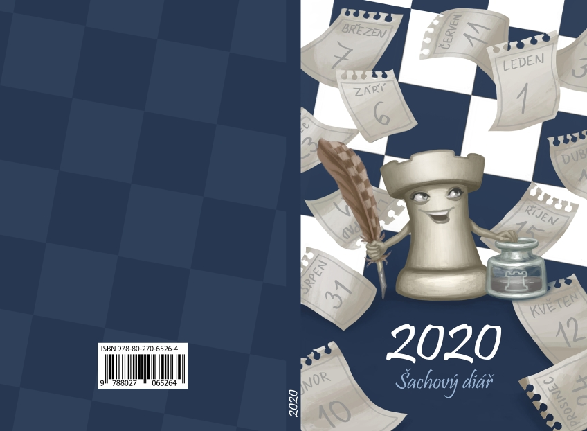 2020 Chess diary - cover