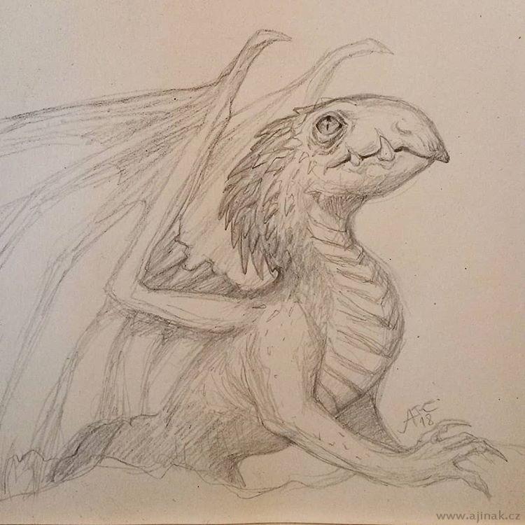 Dragon sketching #3