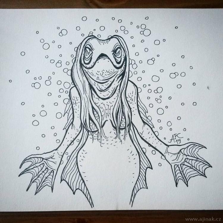 Fishy lady
