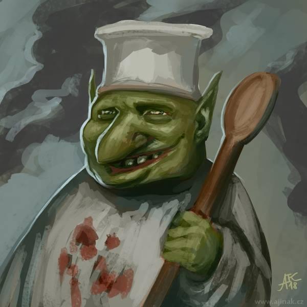 Happy cook