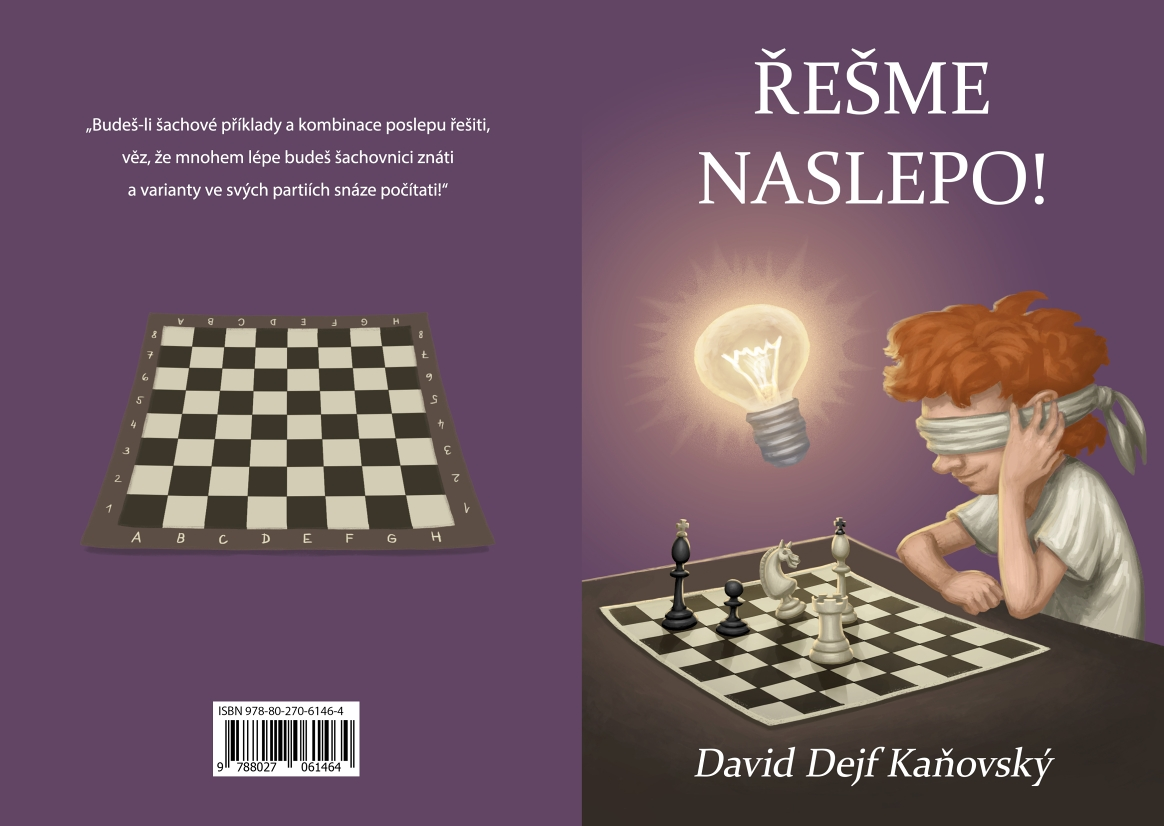 Solve blindfold! - chess book cover