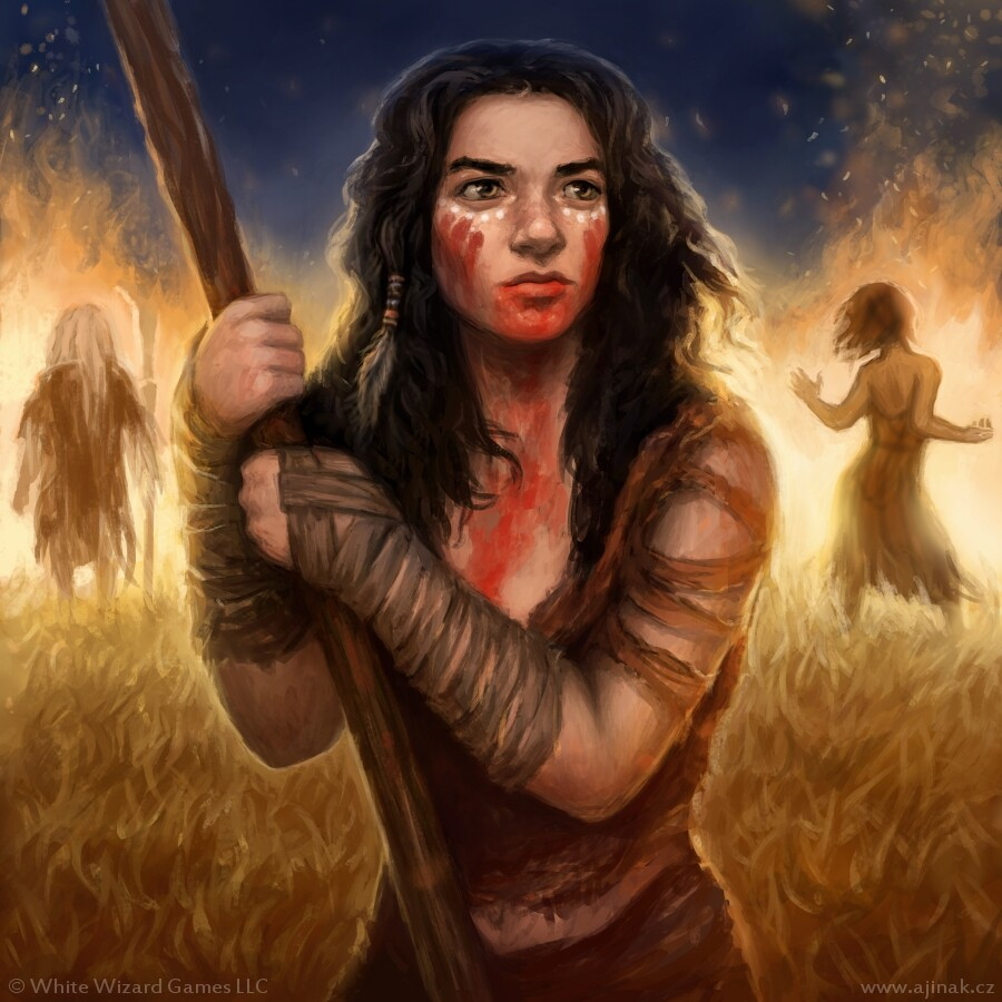 Natdia - illustration for Sorcerer: A Strategy Card Game